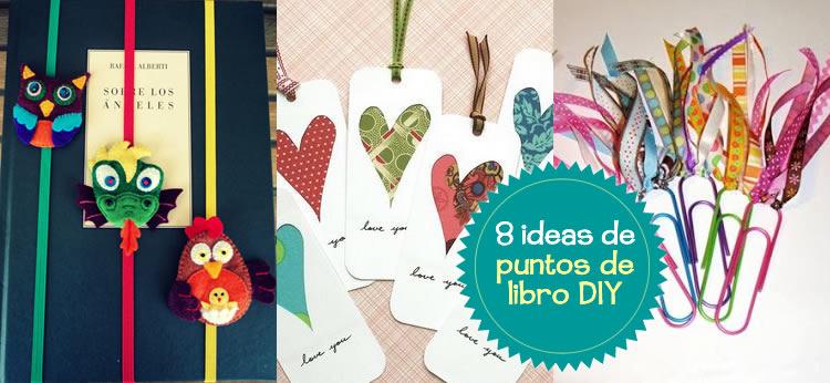 8 Puntos de libro DIY para el Día del Libro