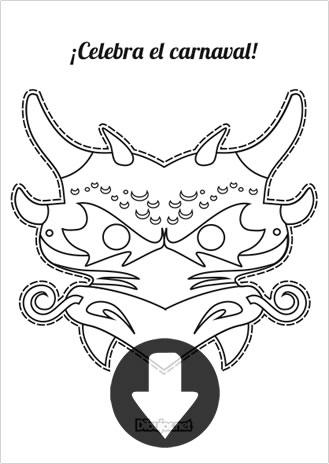 Máscara de dragón