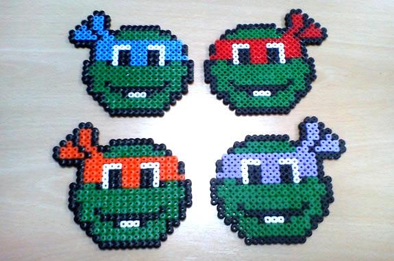 Posavasos de las Tortugas Ninja