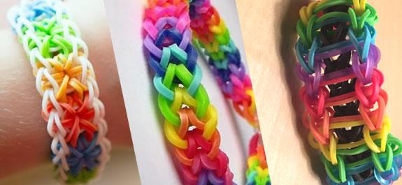 Pulseras de gomitas Rainbow Loom 2: ¡Más modelos!