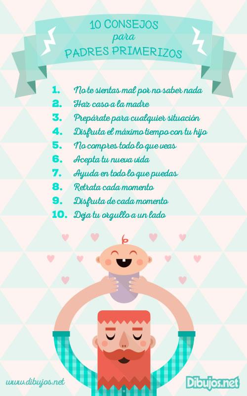 Diez Consejos Para Padres Primerizos Padres Dibujosnet