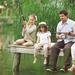 Pasar un día de pesca con toda la familia
