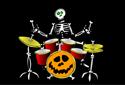 Jugar a El esqueleto más rockero de la categoría Juegos de halloween