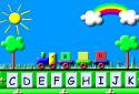 Jugar a El tren del abecedario de la categoría Juegos educativos