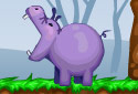 Hipopótamos hambrientos