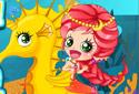 Jugar a La sirenita marina de la categoría Juegos de niñas