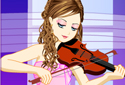 Jugar a La violinista de la categoría Juegos de niñas