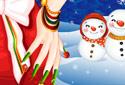 Manicura, especial Navidad